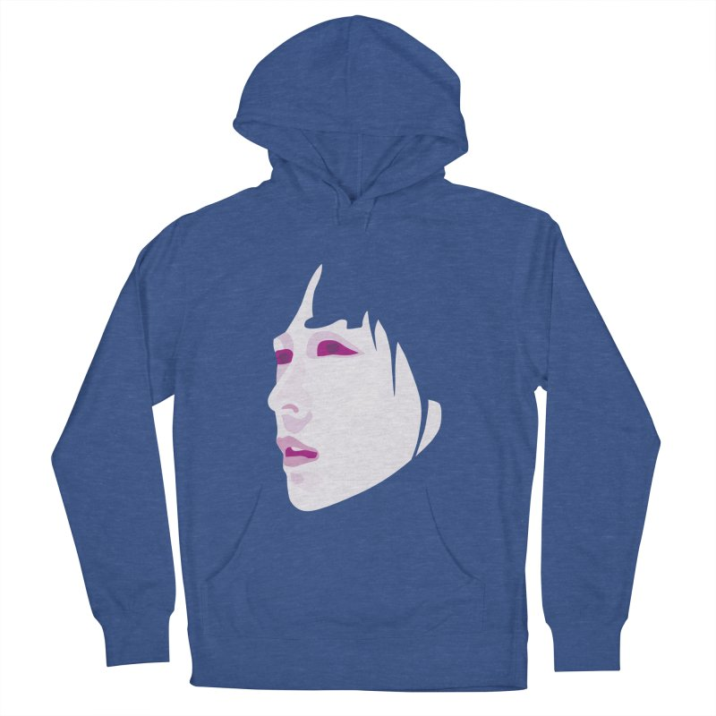Longing Men's French Terry Pullover Hoody by Whitewater's Artist Shop