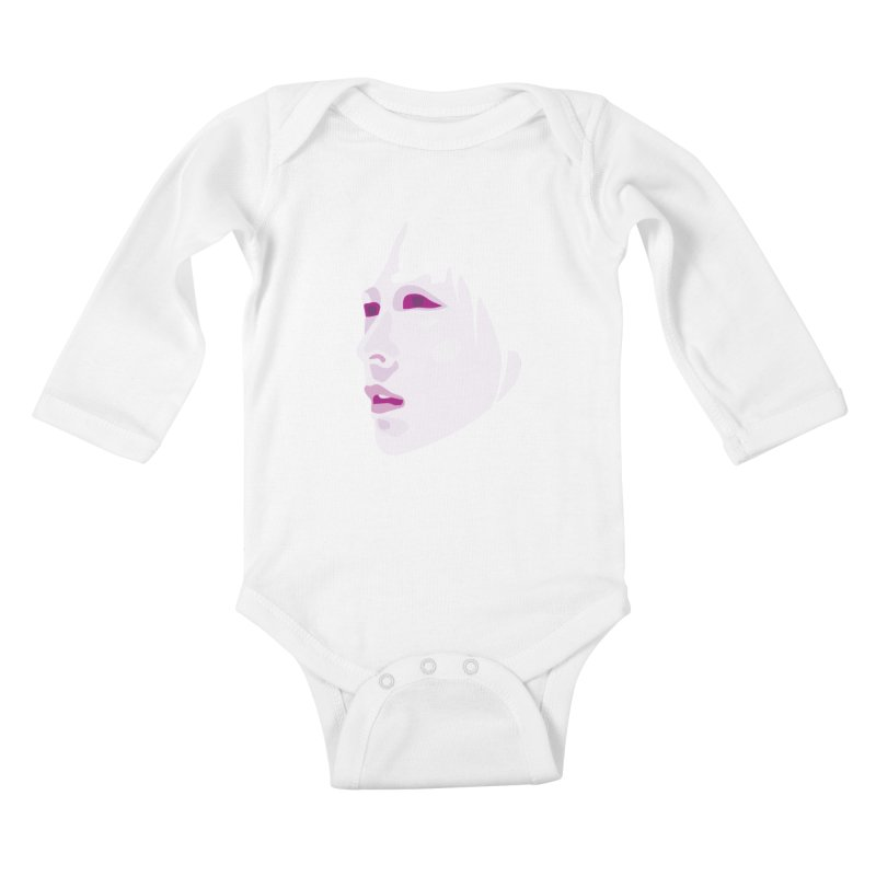 Longing Kids Baby Longsleeve Bodysuit by Whitewater's Artist Shop