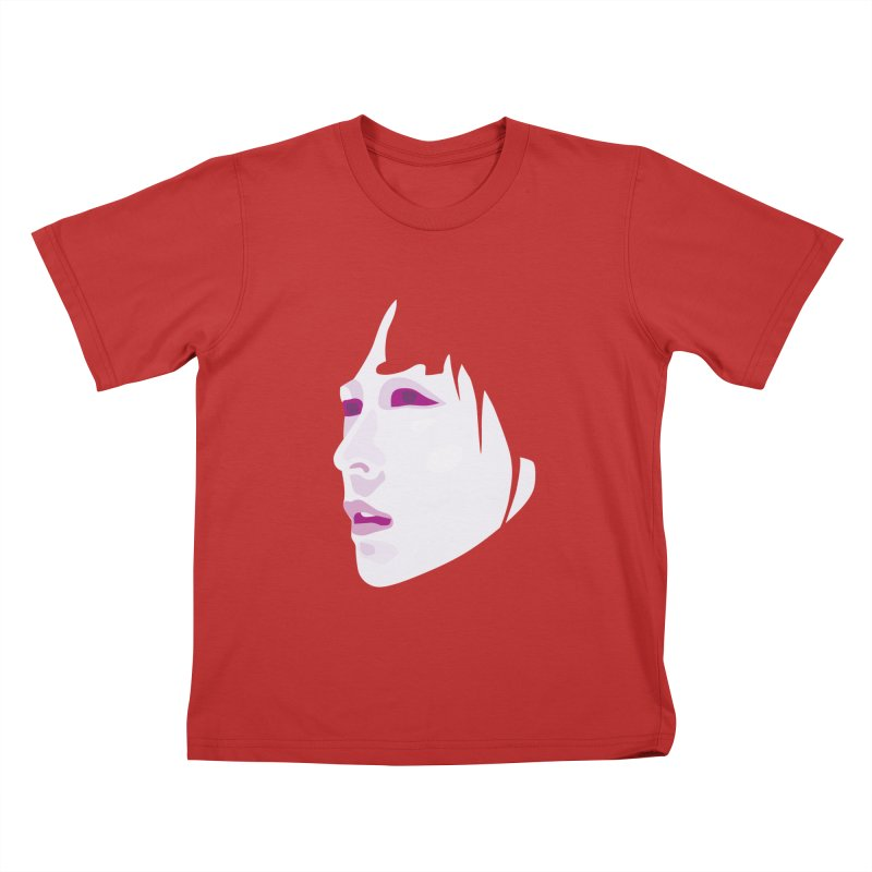 Longing Kids T-shirt by Whitewater's Artist Shop