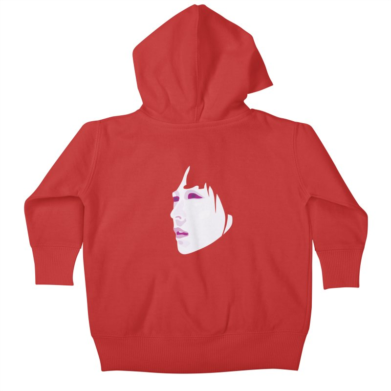 Longing Kids Baby Zip-Up Hoody by Whitewater's Artist Shop