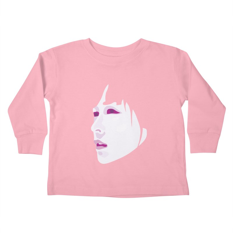 Longing Kids Toddler Longsleeve T-Shirt by Whitewater's Artist Shop