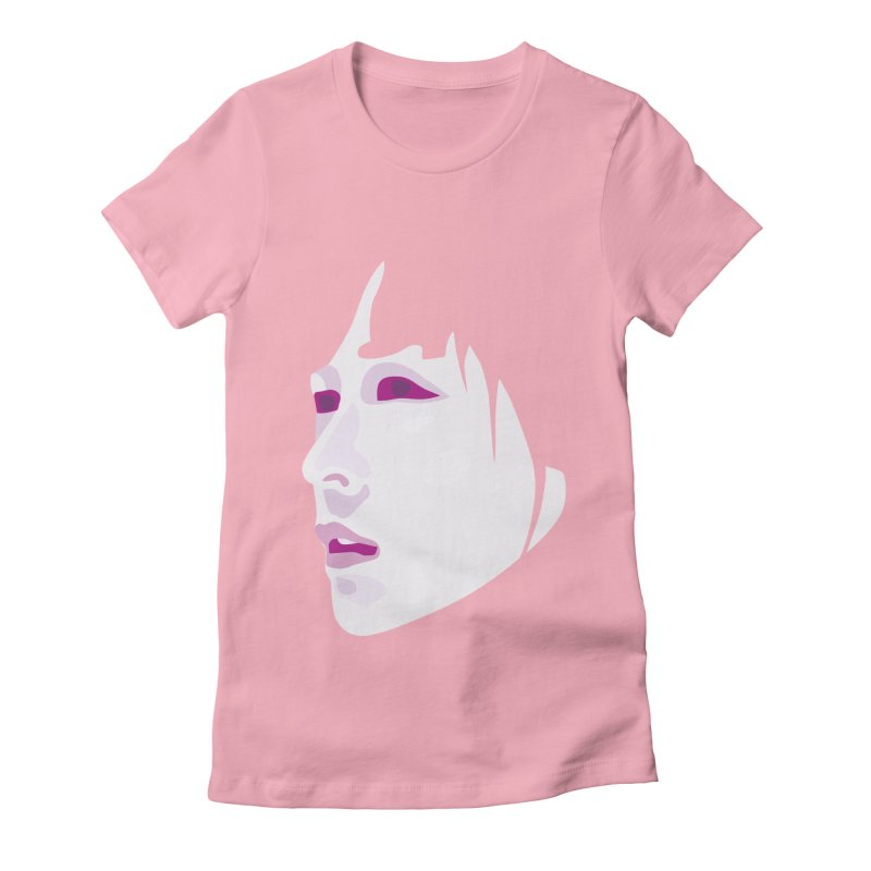 Longing Women's Fitted T-Shirt by Whitewater's Artist Shop