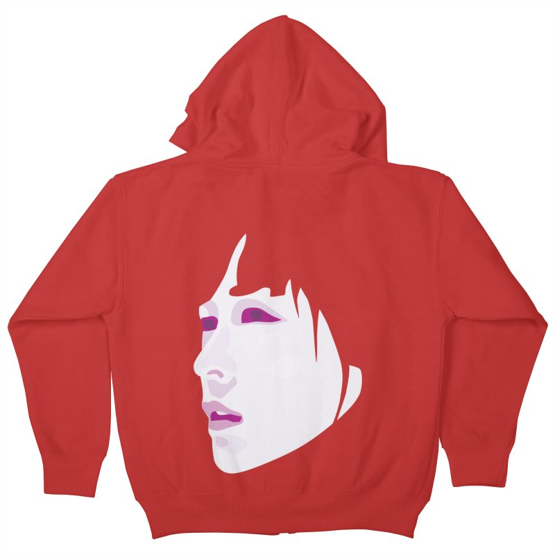 Longing Kids Zip-Up Hoody by Whitewater's Artist Shop