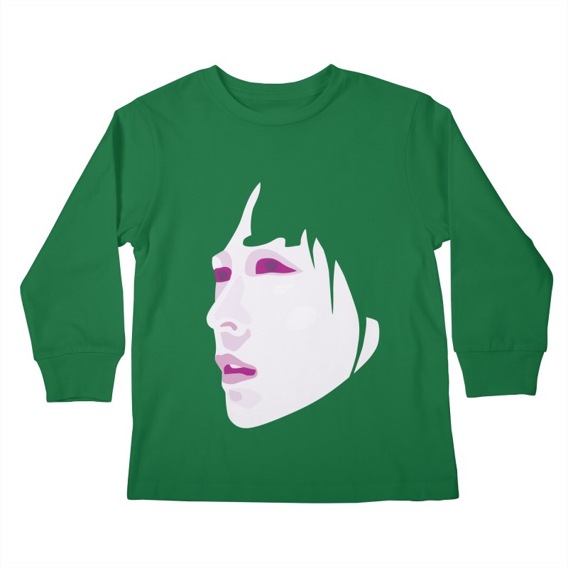 Longing Kids Longsleeve T-Shirt by Whitewater's Artist Shop