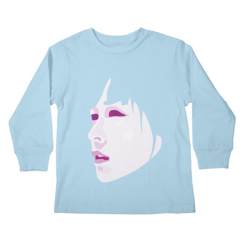 Longing Kids Longsleeve T-Shirt by Whitewater's Artist Shop