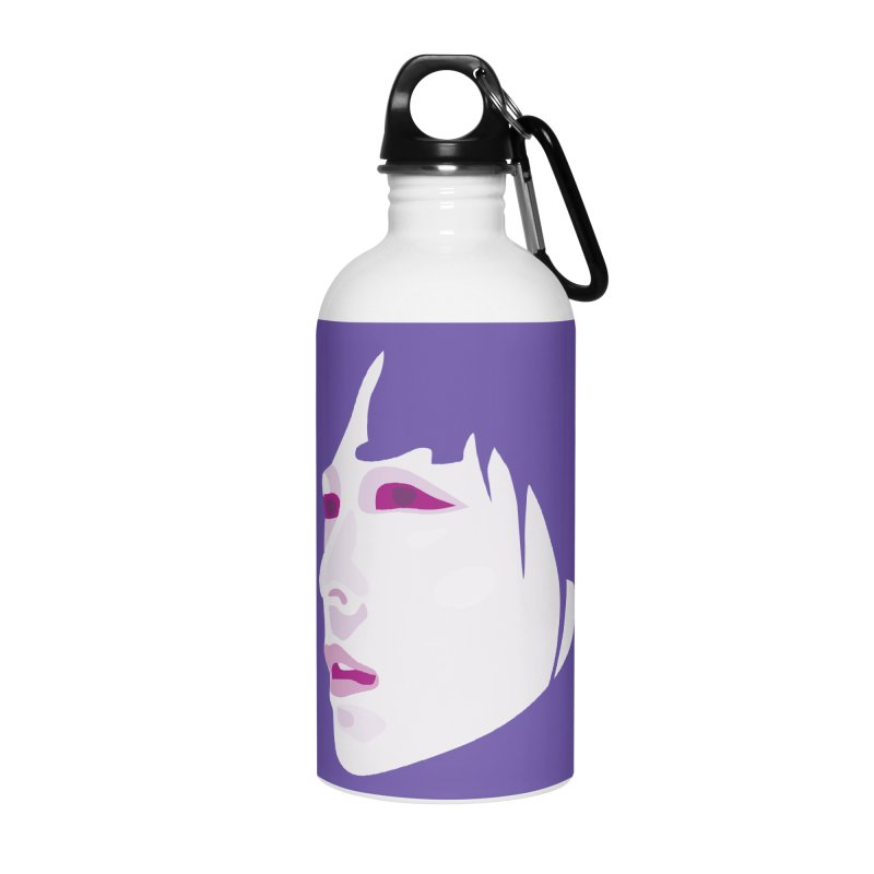 Longing Accessories Water Bottle by Whitewater's Artist Shop