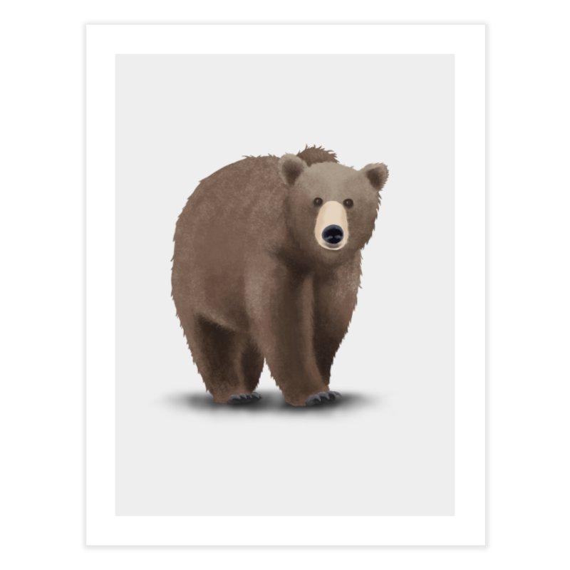 Bear Home Fine Art Print by Whitewater's Artist Shop
