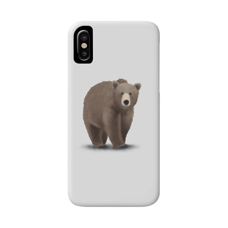 Bear Accessories Phone Case by Whitewater's Artist Shop