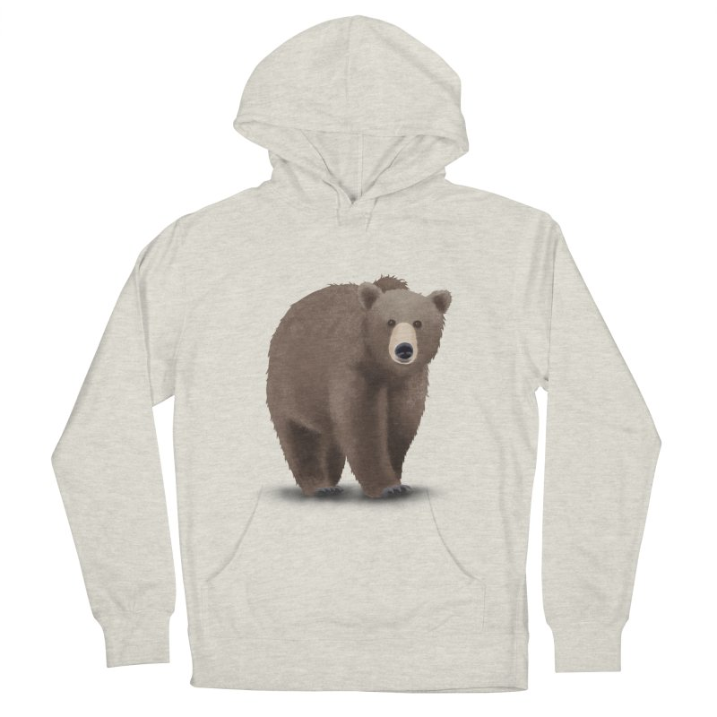 Bear Men's Pullover Hoody by Whitewater's Artist Shop