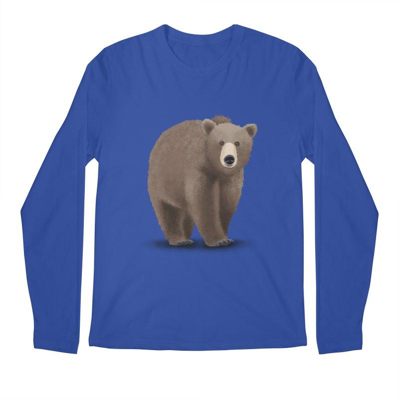 Bear Men's Longsleeve T-Shirt by Whitewater's Artist Shop