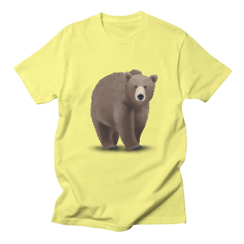 Bear Men's T-Shirt by Whitewater's Artist Shop