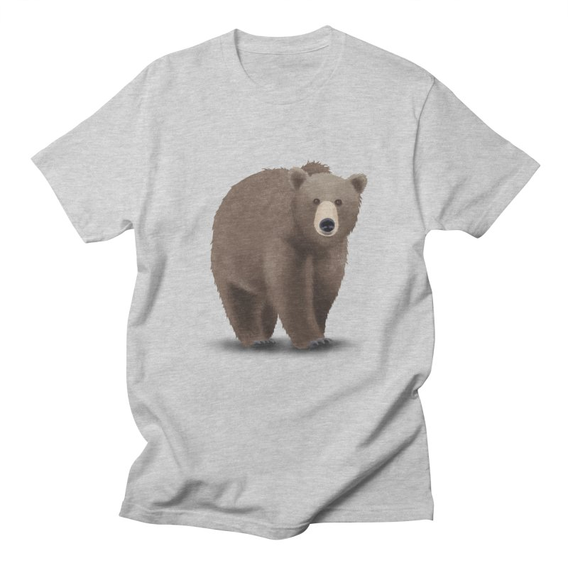 Bear Men's T-Shirt by Whitewater's Artist Shop