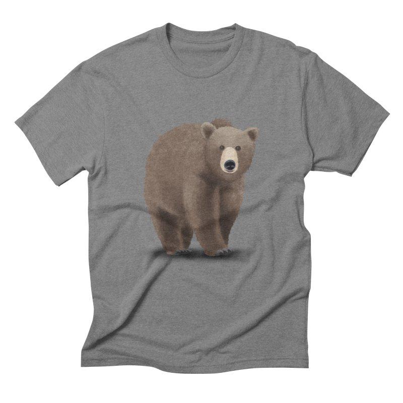 Bear Men's Triblend T-shirt by Whitewater's Artist Shop