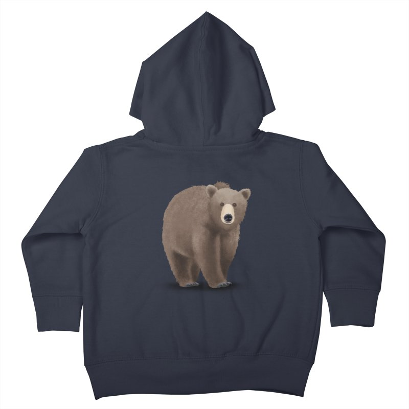 Bear Kids Toddler Zip-Up Hoody by Whitewater's Artist Shop
