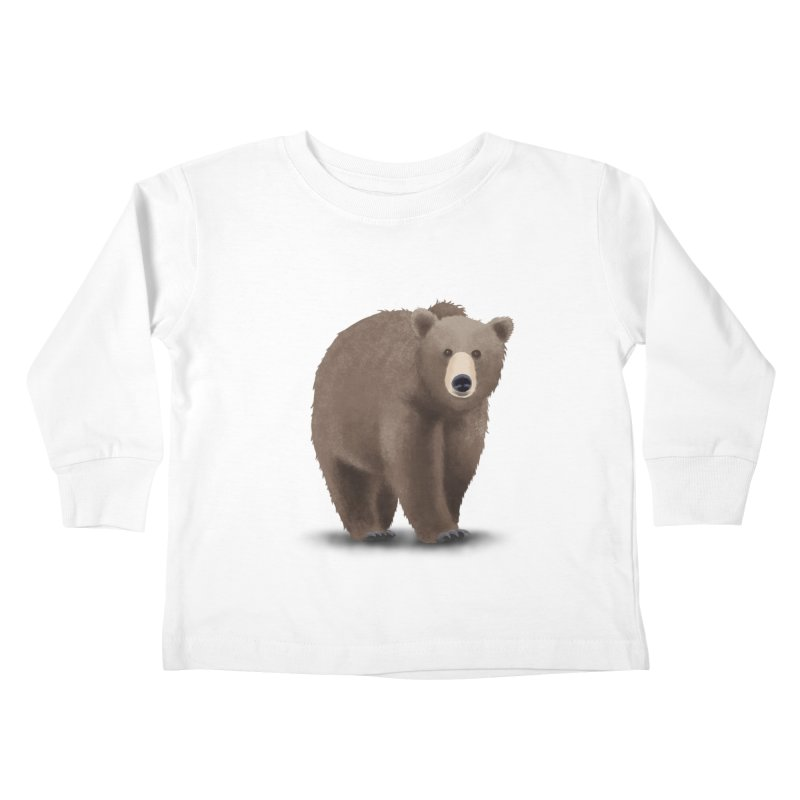 Bear Kids Toddler Longsleeve T-Shirt by Whitewater's Artist Shop