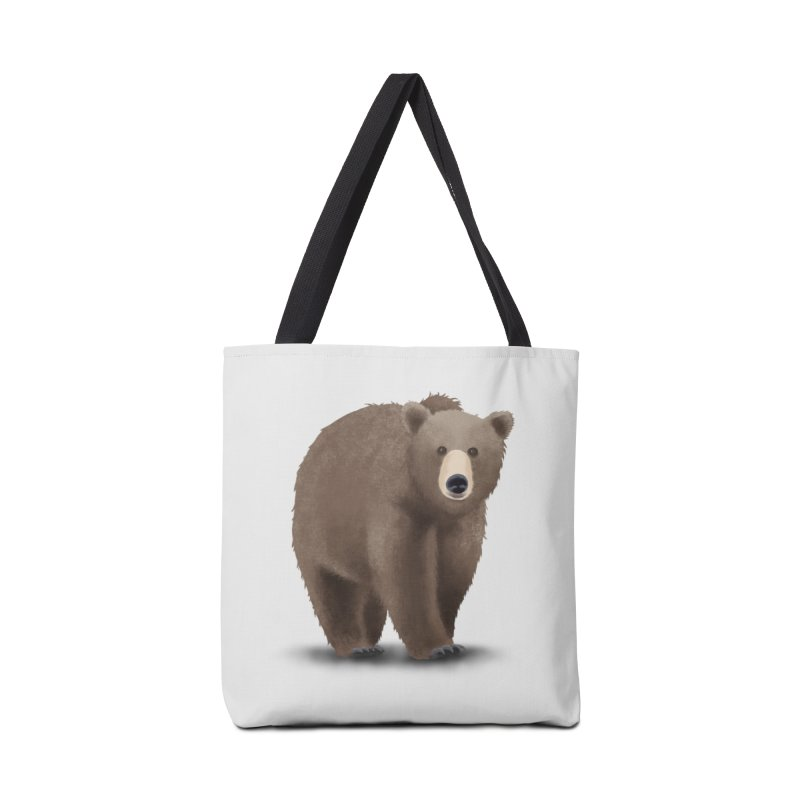 Bear Accessories Bag by Whitewater's Artist Shop