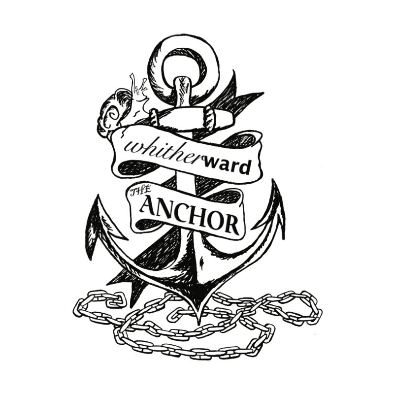 The Anchor Men's T-Shirt by whitherward's Artist Shop