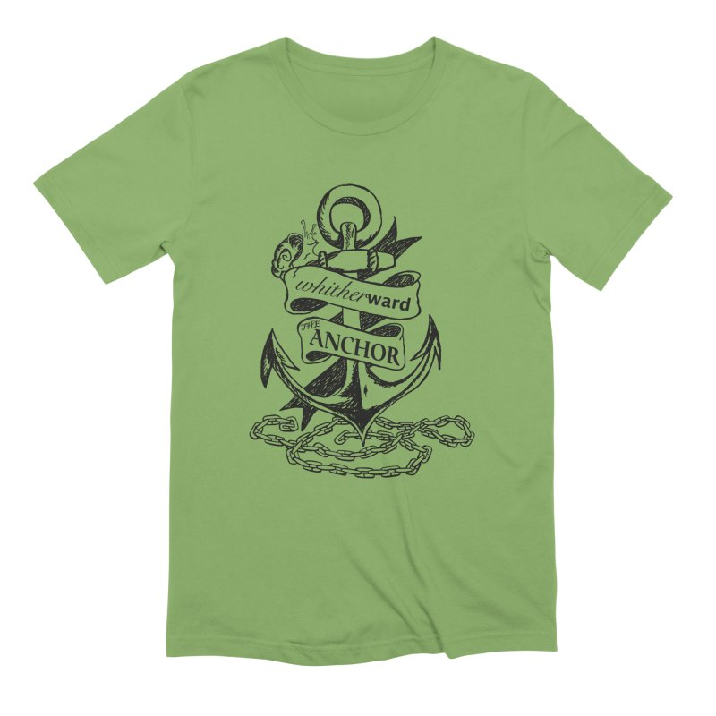The Anchor Men's Extra Soft T-Shirt by whitherward's Artist Shop