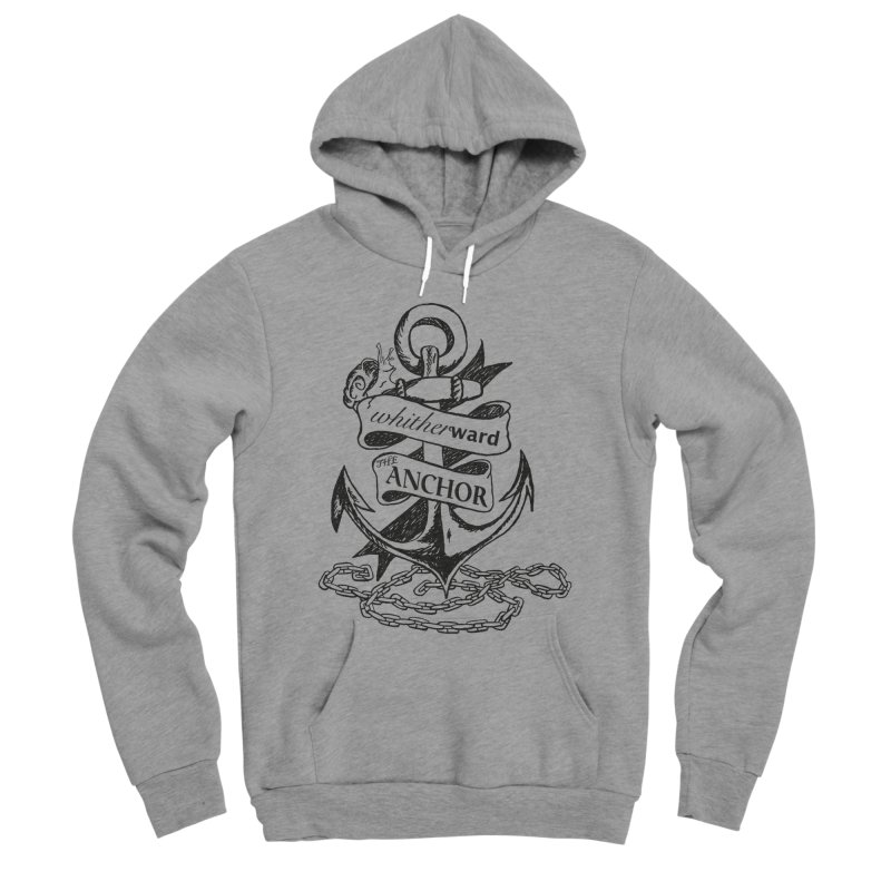 The Anchor Men's Sponge Fleece Pullover Hoody by whitherward's Artist Shop
