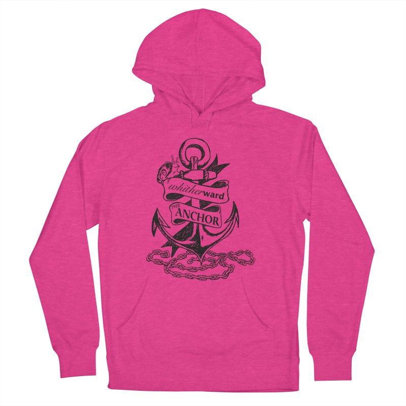 The Anchor Women's French Terry Pullover Hoody by whitherward's Artist Shop