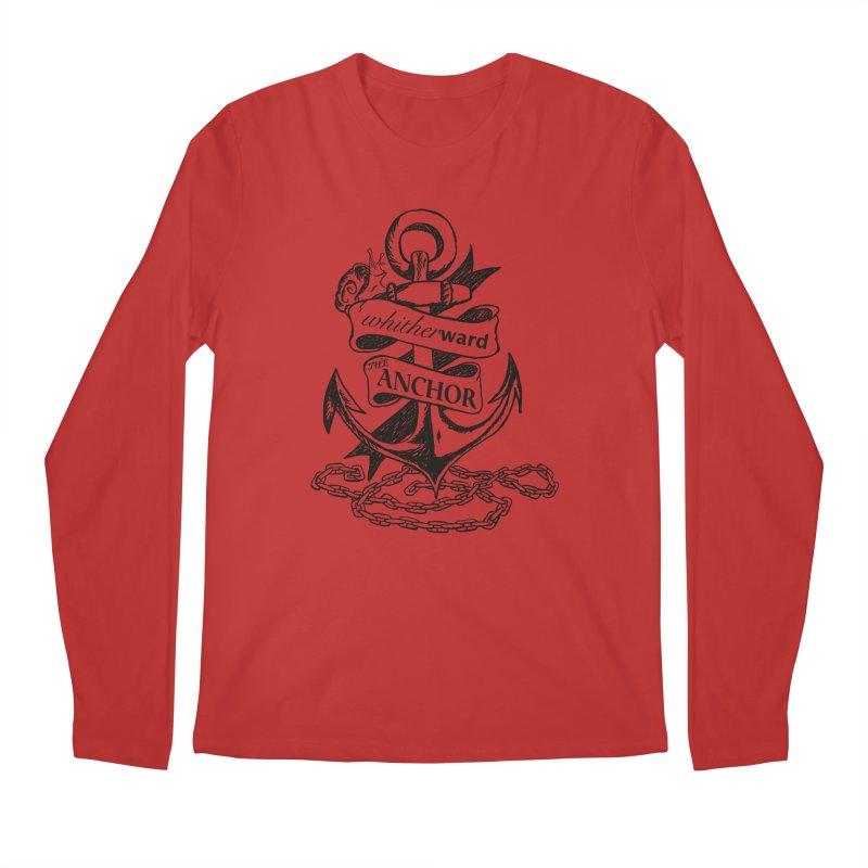 The Anchor Men's Regular Longsleeve T-Shirt by whitherward's Artist Shop