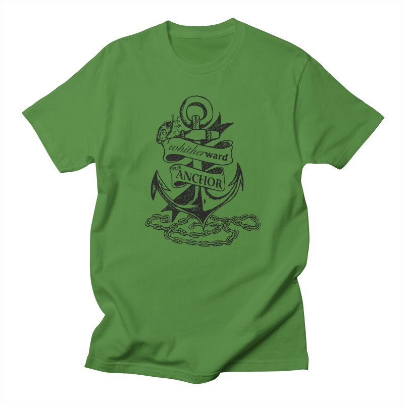 The Anchor Women's Regular Unisex T-Shirt by whitherward's Artist Shop