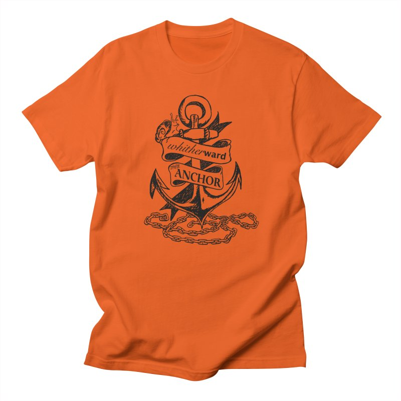 The Anchor Men's Regular T-Shirt by whitherward's Artist Shop