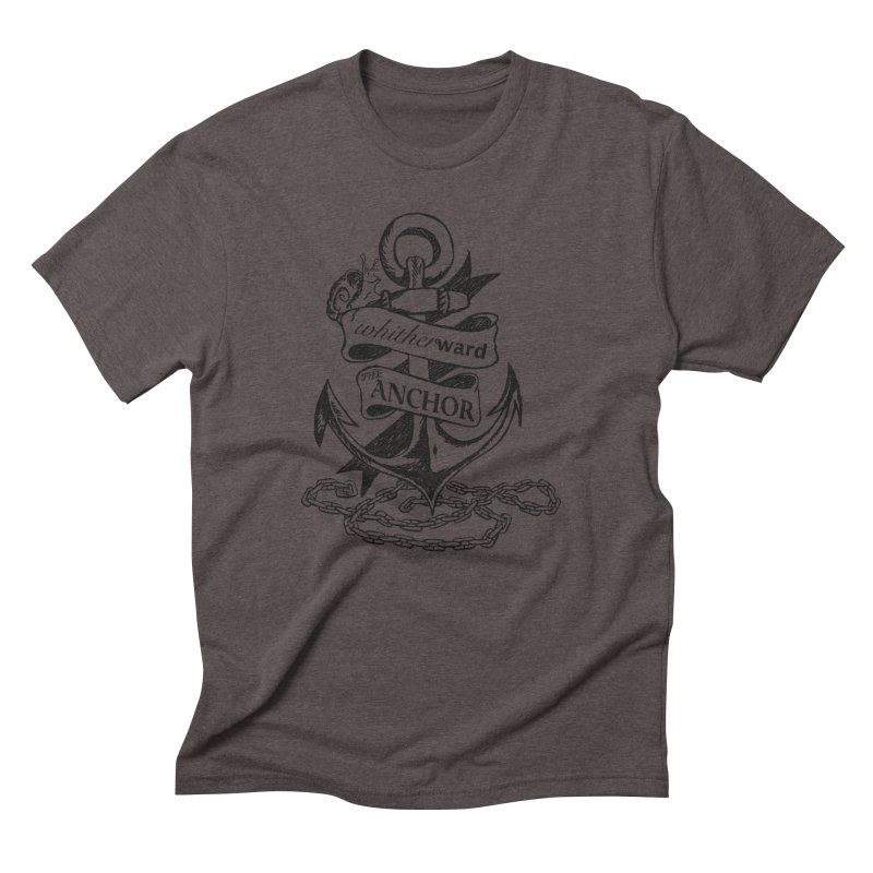 The Anchor Men's Triblend T-Shirt by whitherward's Artist Shop