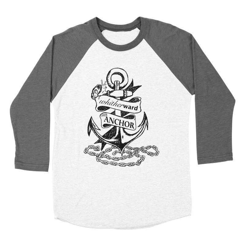 The Anchor Women's Longsleeve T-Shirt by whitherward's Artist Shop