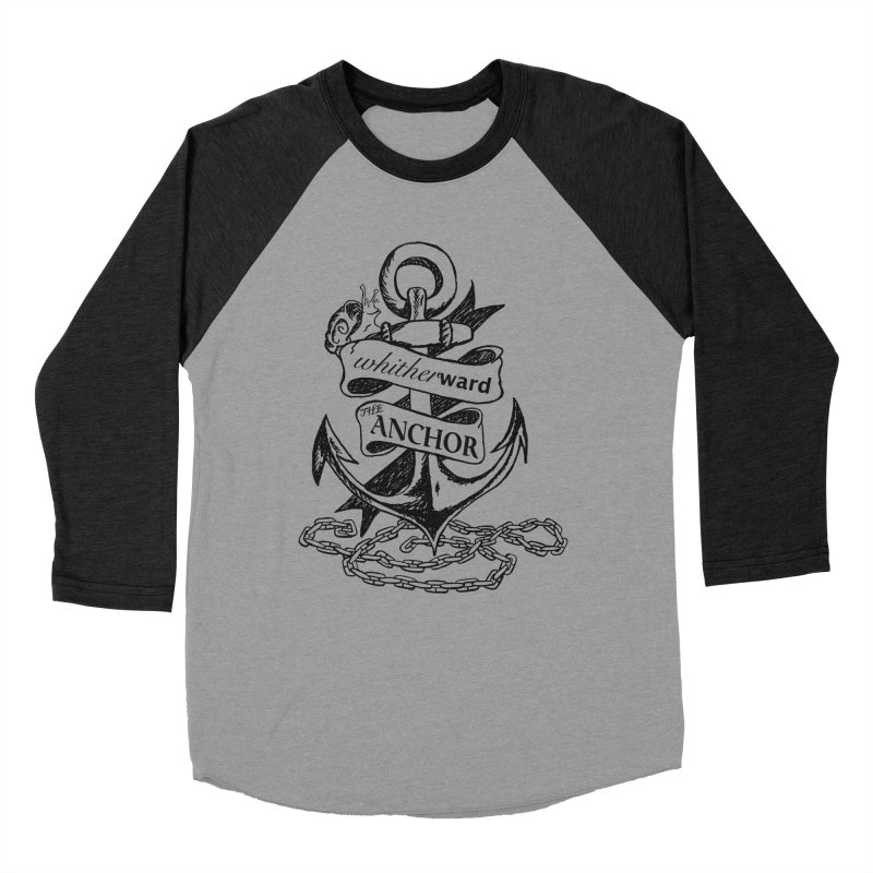 The Anchor Women's Baseball Triblend Longsleeve T-Shirt by whitherward's Artist Shop
