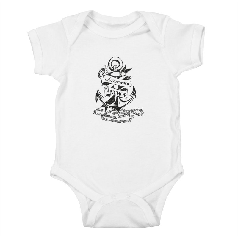 The Anchor Kids Baby Bodysuit by whitherward's Artist Shop