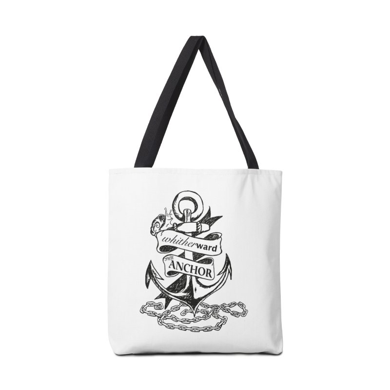 The Anchor Accessories Tote Bag Bag by whitherward's Artist Shop