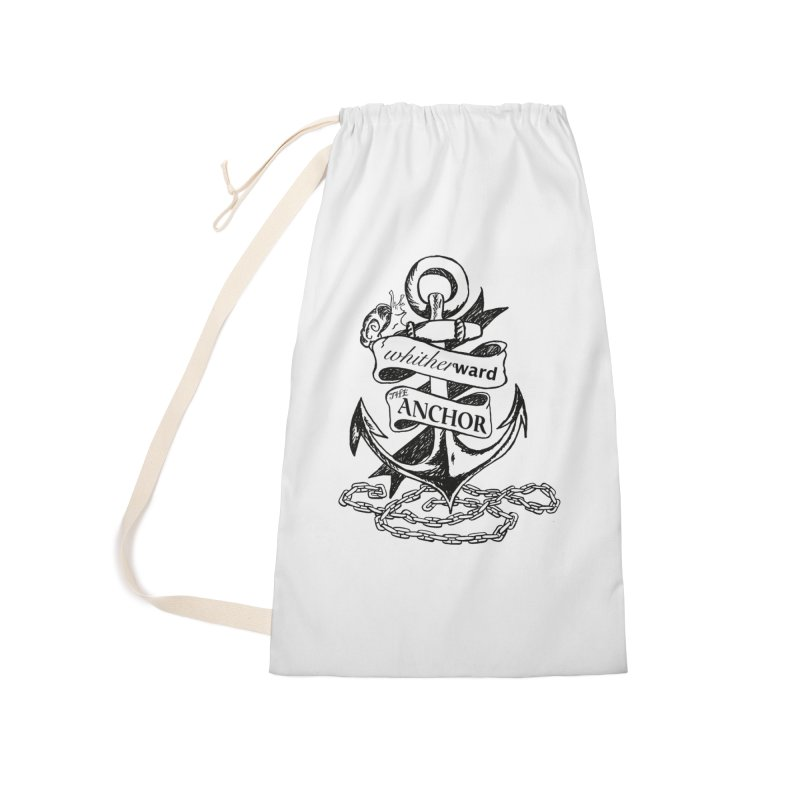 The Anchor Accessories Laundry Bag Bag by whitherward's Artist Shop