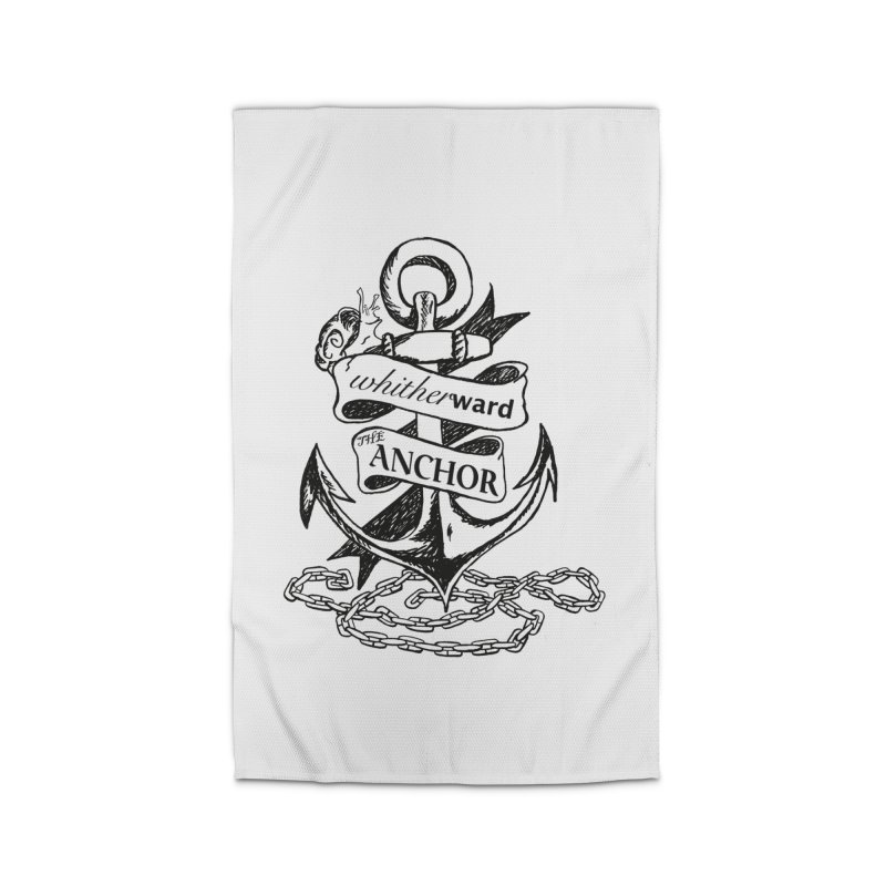 The Anchor Home Rug by whitherward's Artist Shop