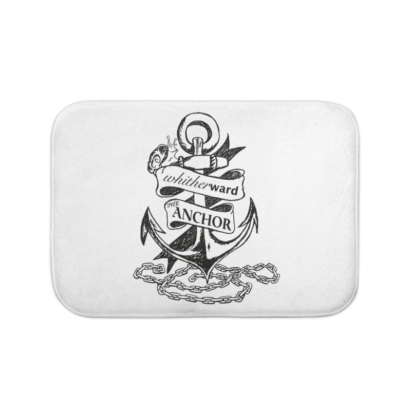 The Anchor Home Bath Mat by whitherward's Artist Shop