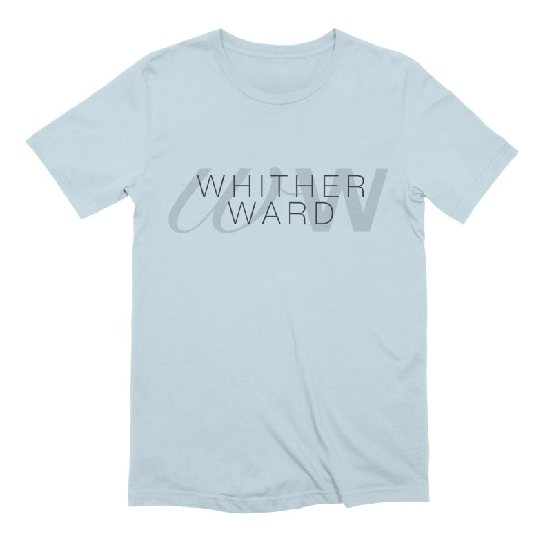 WW + Words (black) Men's Extra Soft T-Shirt by whitherward's Artist Shop