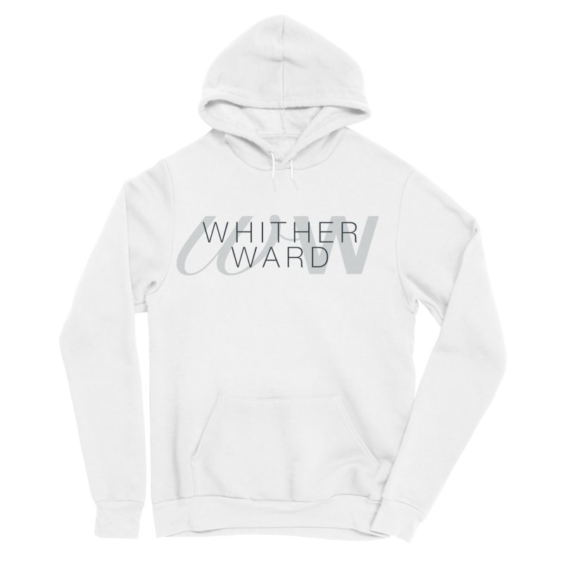 WW + Words (black) Women's Sponge Fleece Pullover Hoody by whitherward's Artist Shop