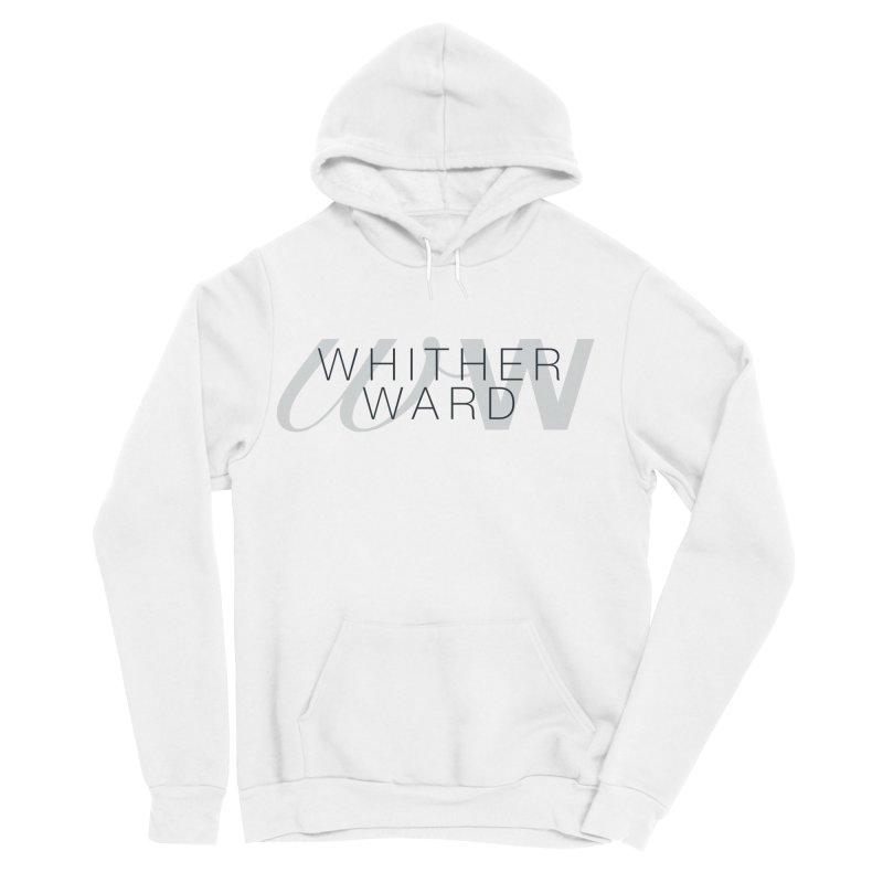 WW + Words (black) Men's Sponge Fleece Pullover Hoody by whitherward's Artist Shop