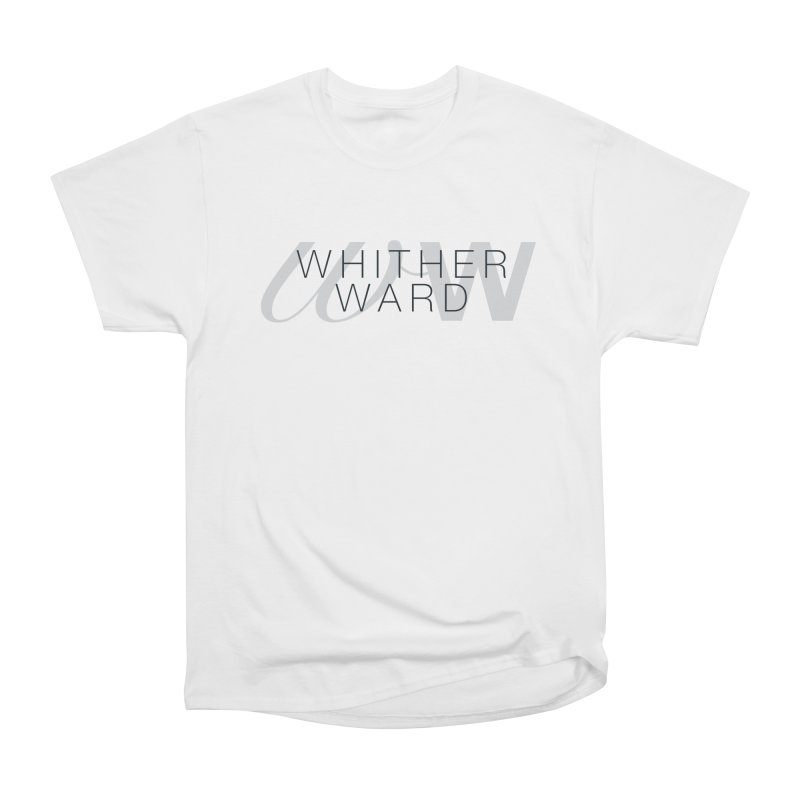 WW + Words (black) Men's Heavyweight T-Shirt by whitherward's Artist Shop