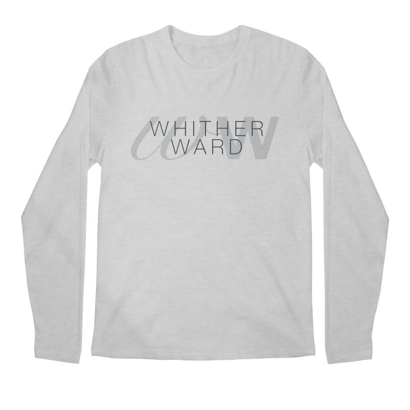 WW + Words (black) Men's Longsleeve T-Shirt by whitherward's Artist Shop