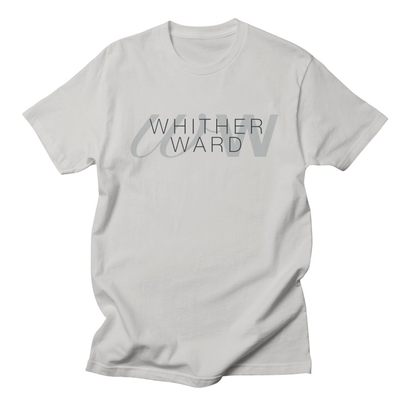 WW + Words (black) Men's Regular T-Shirt by whitherward's Artist Shop