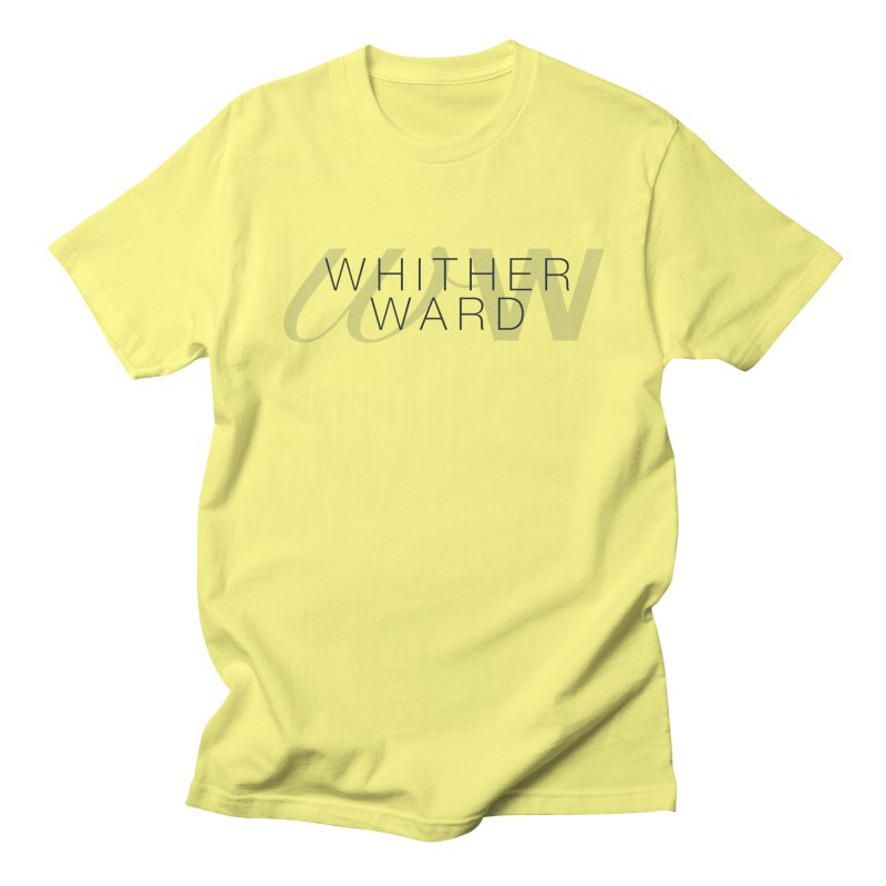 WW + Words (black) Men's T-Shirt by whitherward's Artist Shop