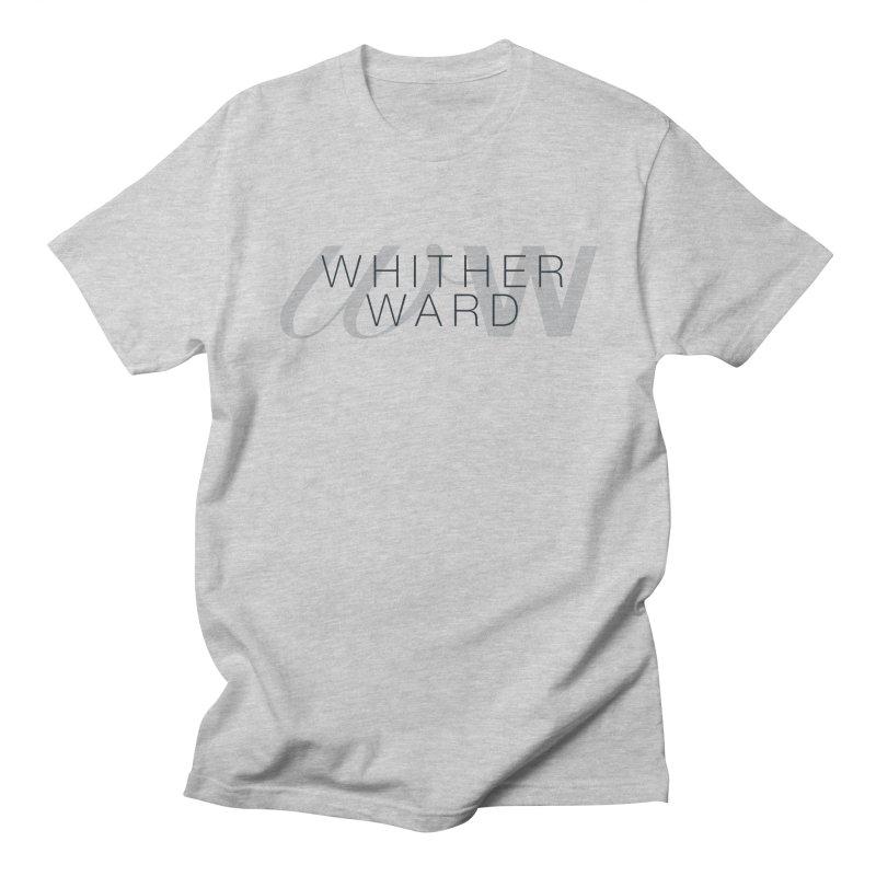 WW + Words (black) Men's Regular T-Shirt by whitherward's Artist Shop