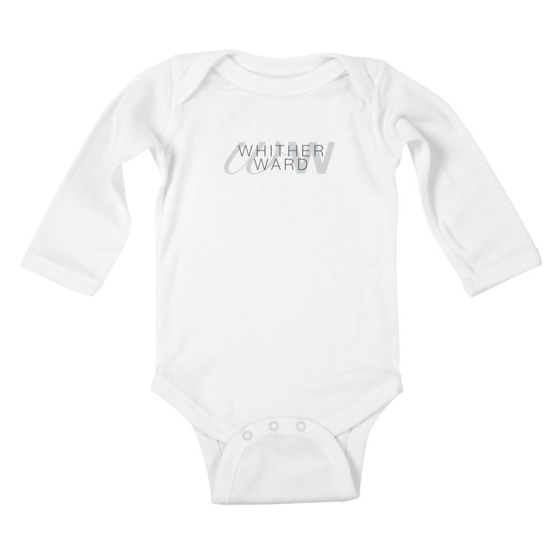 WW + Words (black) Kids Baby Longsleeve Bodysuit by whitherward's Artist Shop