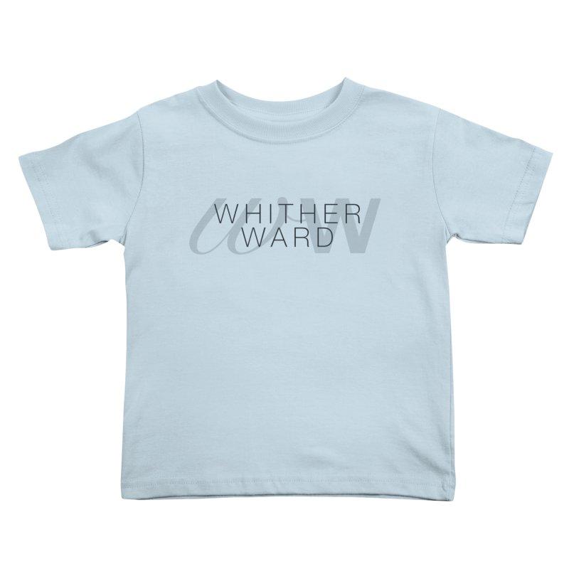 WW + Words (black) Kids Toddler T-Shirt by whitherward's Artist Shop