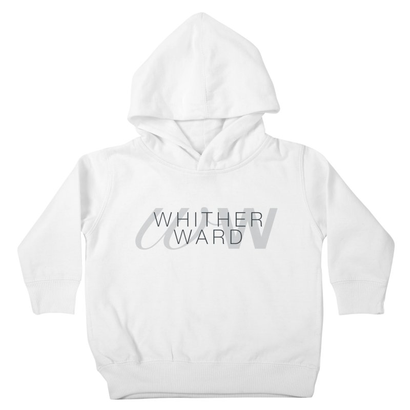 WW + Words (black) Kids Toddler Pullover Hoody by whitherward's Artist Shop