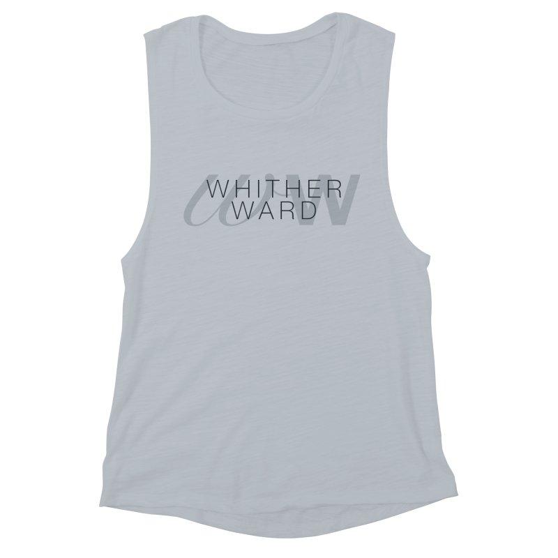 WW + Words (black) Women's Muscle Tank by whitherward's Artist Shop