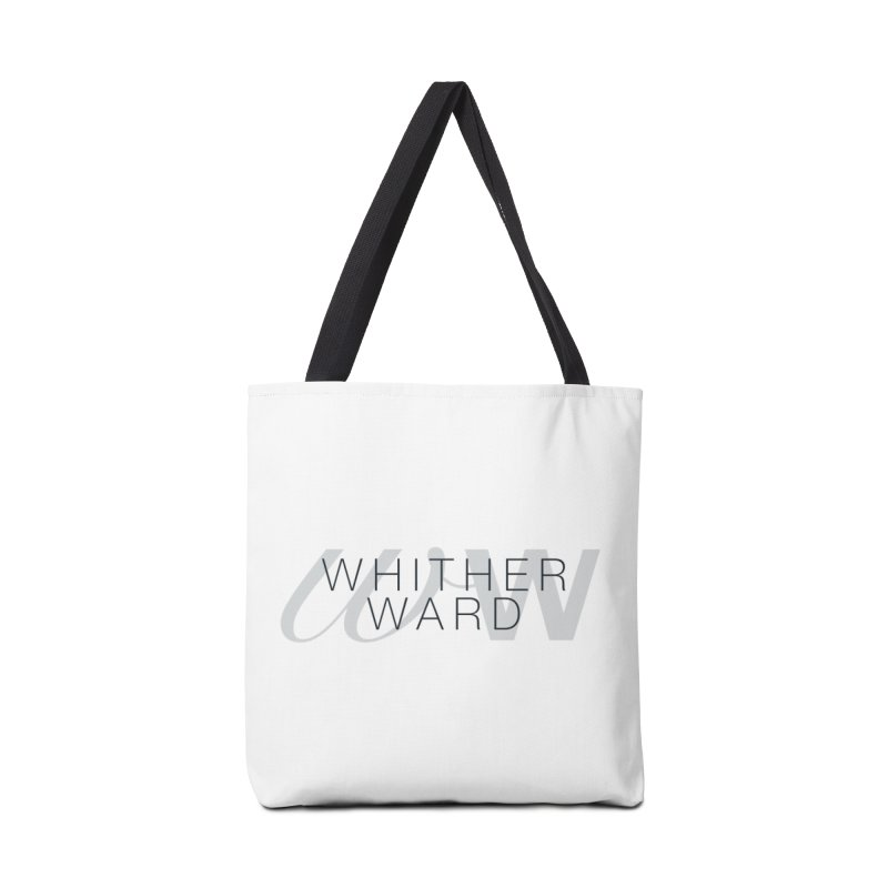 WW + Words (black) Accessories Tote Bag Bag by whitherward's Artist Shop