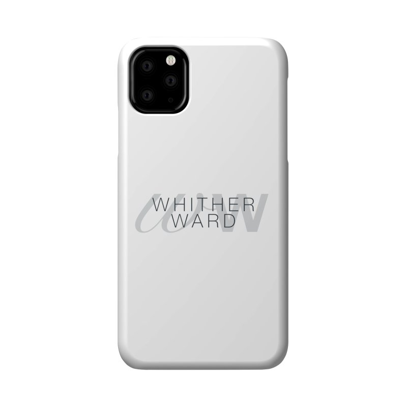 WW + Words (black) Accessories Phone Case by whitherward's Artist Shop