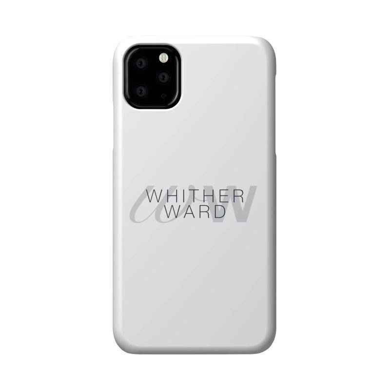 WW + Words (black) Accessories Phone Case by whitherward's Artist Shop